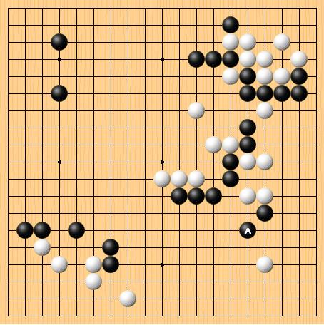 2017-1-02 黑:金志锡 白:阿尔法狗 共170手 白中盘胜
